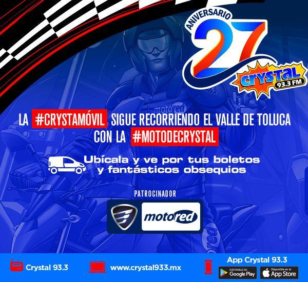 Boletos para la Moto de Crystal