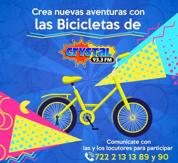 Crystal 93.3 tiene una bicicleta para ti