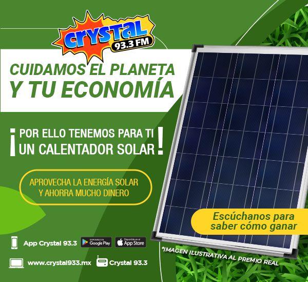 Tenemos un calentador solar para tu casa