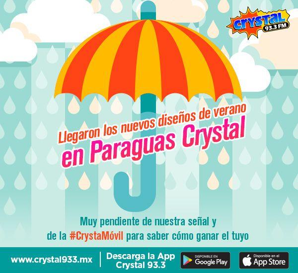 Los paraguas de Crystal